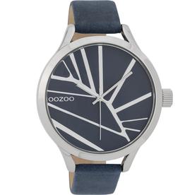 OOZOO Horloge d.blauw 43mm C9681 - OOZOO