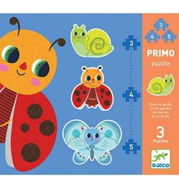 Djeco Puzzels In de Tuin 3, 4 en 5 stukjes - Djeco