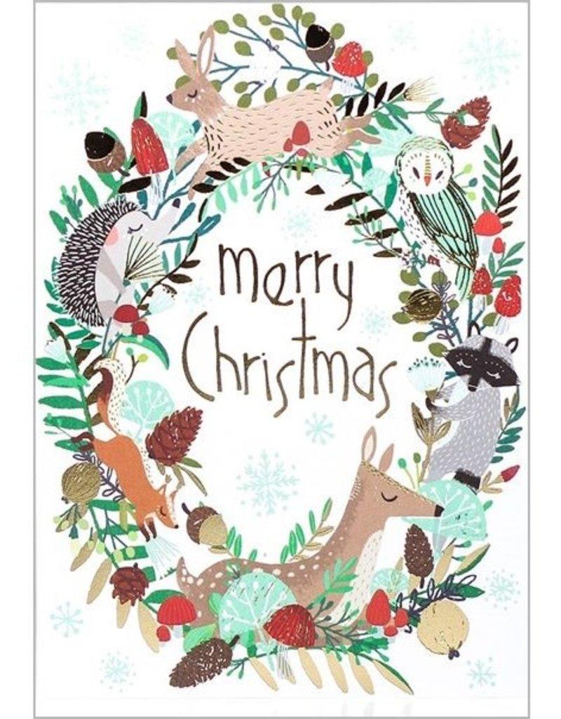 8 kerstkaarten - Roger la Borde - Merry Christmas