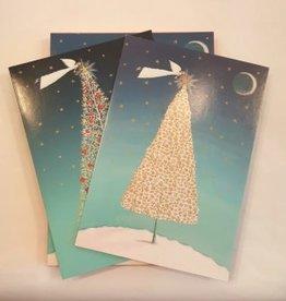 8 kerstkaarten - Roger la Borde - Engel