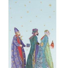 8 kerstkaarten - Roger la Borde - 3 Wijzen