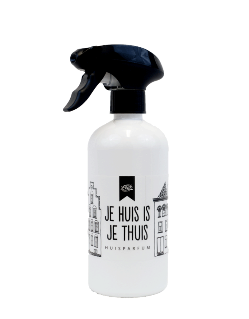 100% Leuk Huisparfum - Kruidige dennenappel 500 ML - 100% Leuk