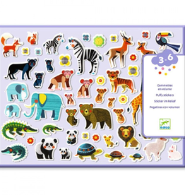 Djeco Puffy Stickers Moeder en Kind 3-6jr - Djeco