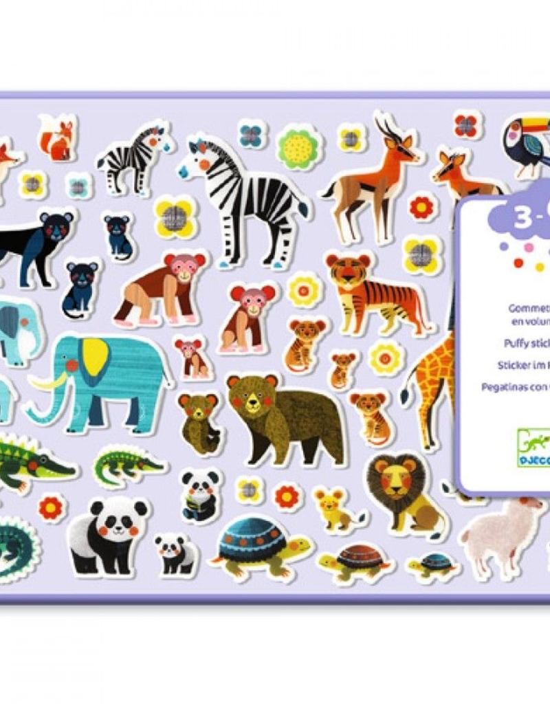 Djeco Puffy Stickers Moeder en Kind 3-6jr - Djeco