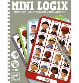 Djeco Mini Logix Wie is het? Jongens 6-10jr - Djeco