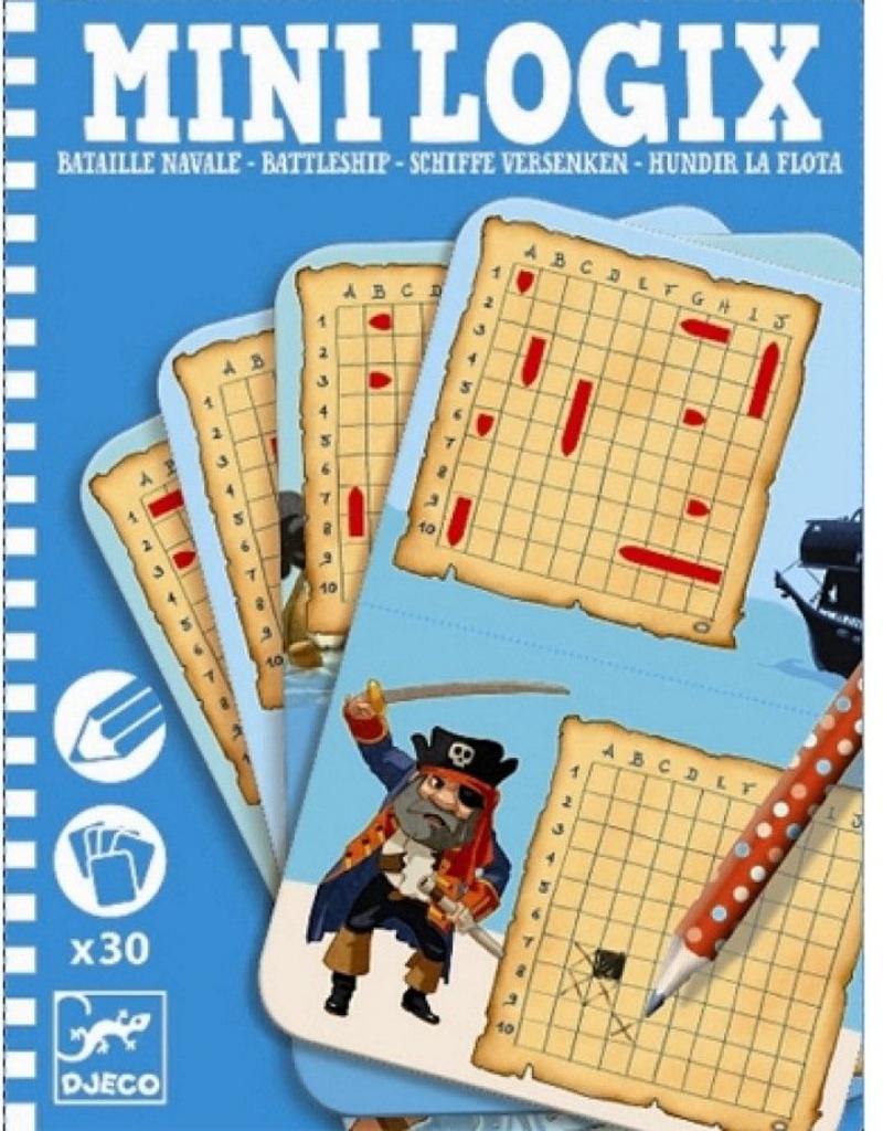 Djeco Mini Logix Zeeslag 6-10jr - Djeco