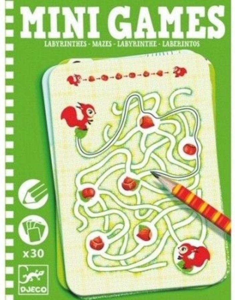 Djeco Mini Games Doolhoven +6jr - Djeco
