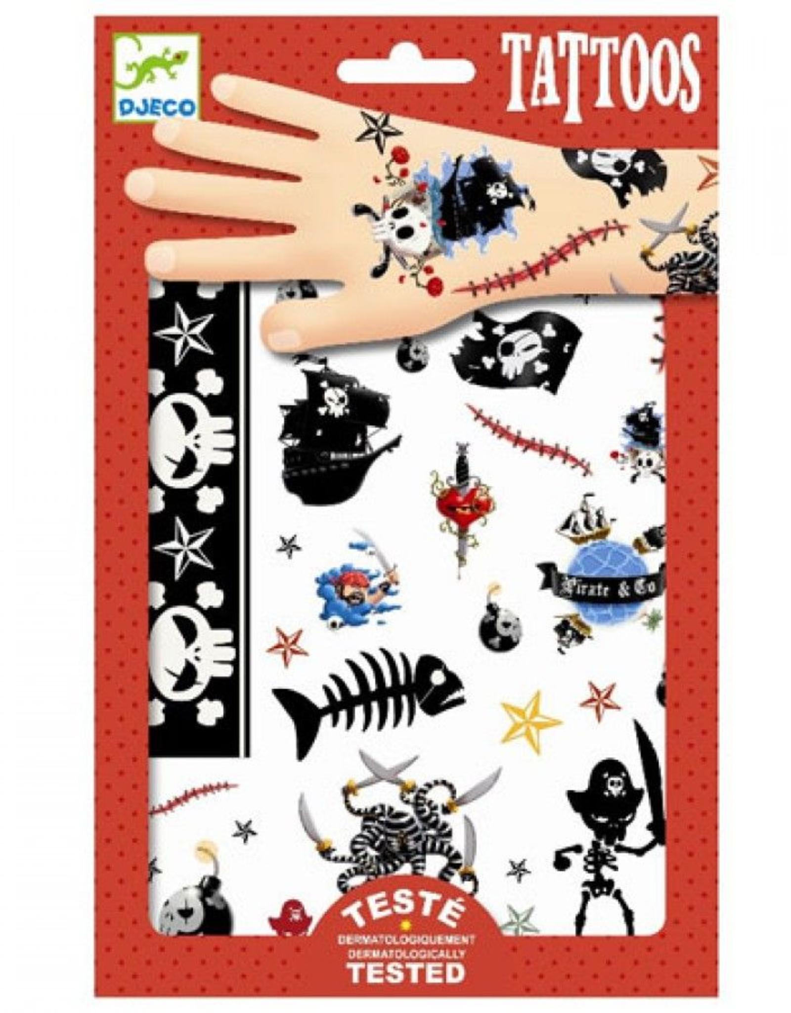 Djeco Tattoos Piraten - Djeco