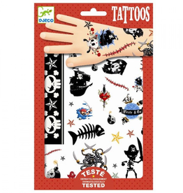 Djeco Tattoos Piraten - Djeco