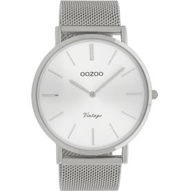 OOZOO Horloge zilver 44mm C9904 - OOZOO