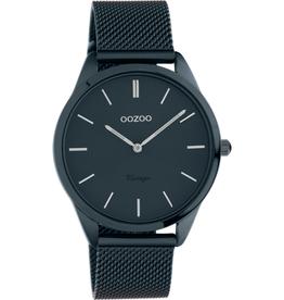 OOZOO Horloge nacht blauw 38mm C20008 - OOZOO