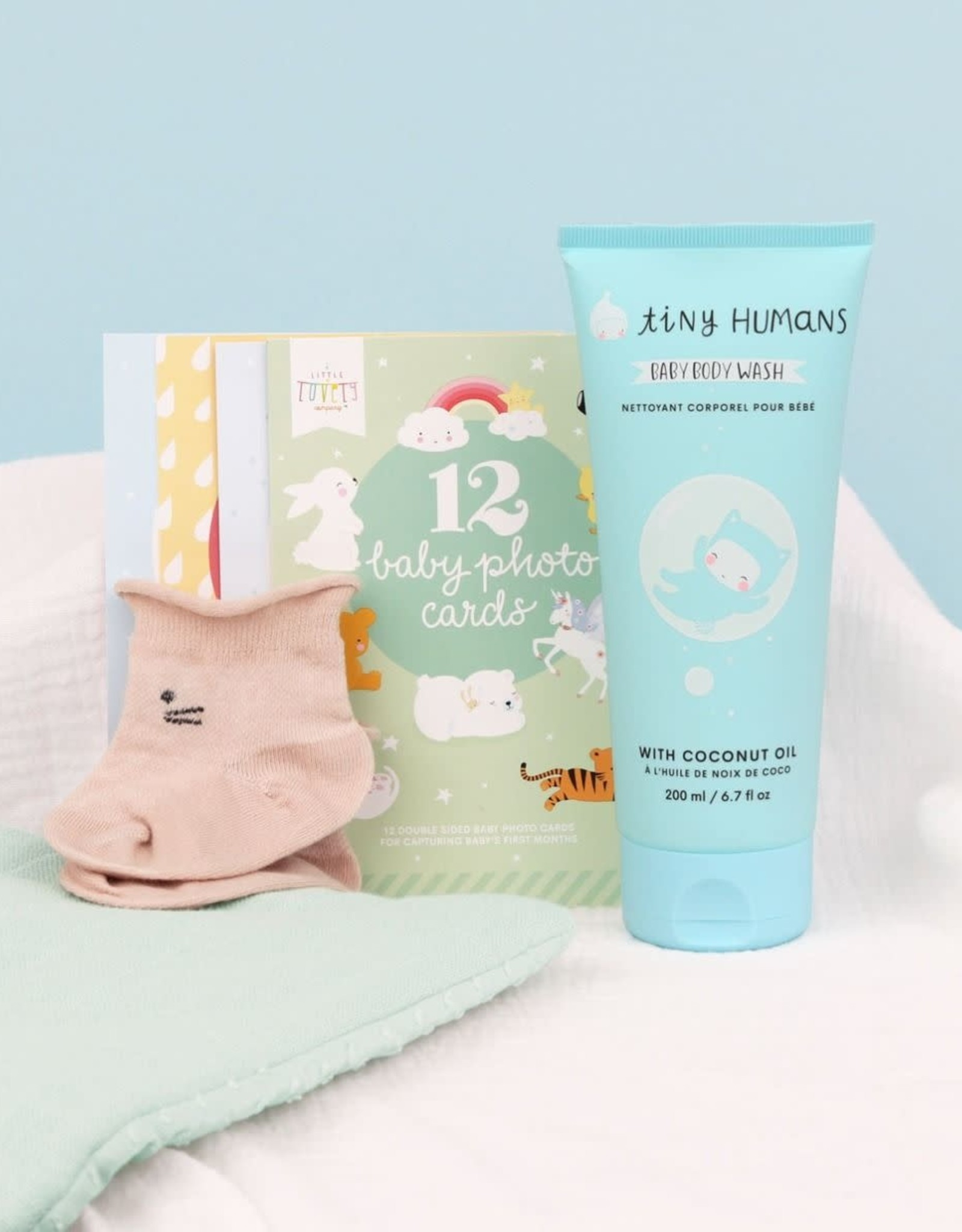 """A Little Lovely Company Baby Giftbox """"Welcome Little Boy (S) - A Little Lovely Company"""