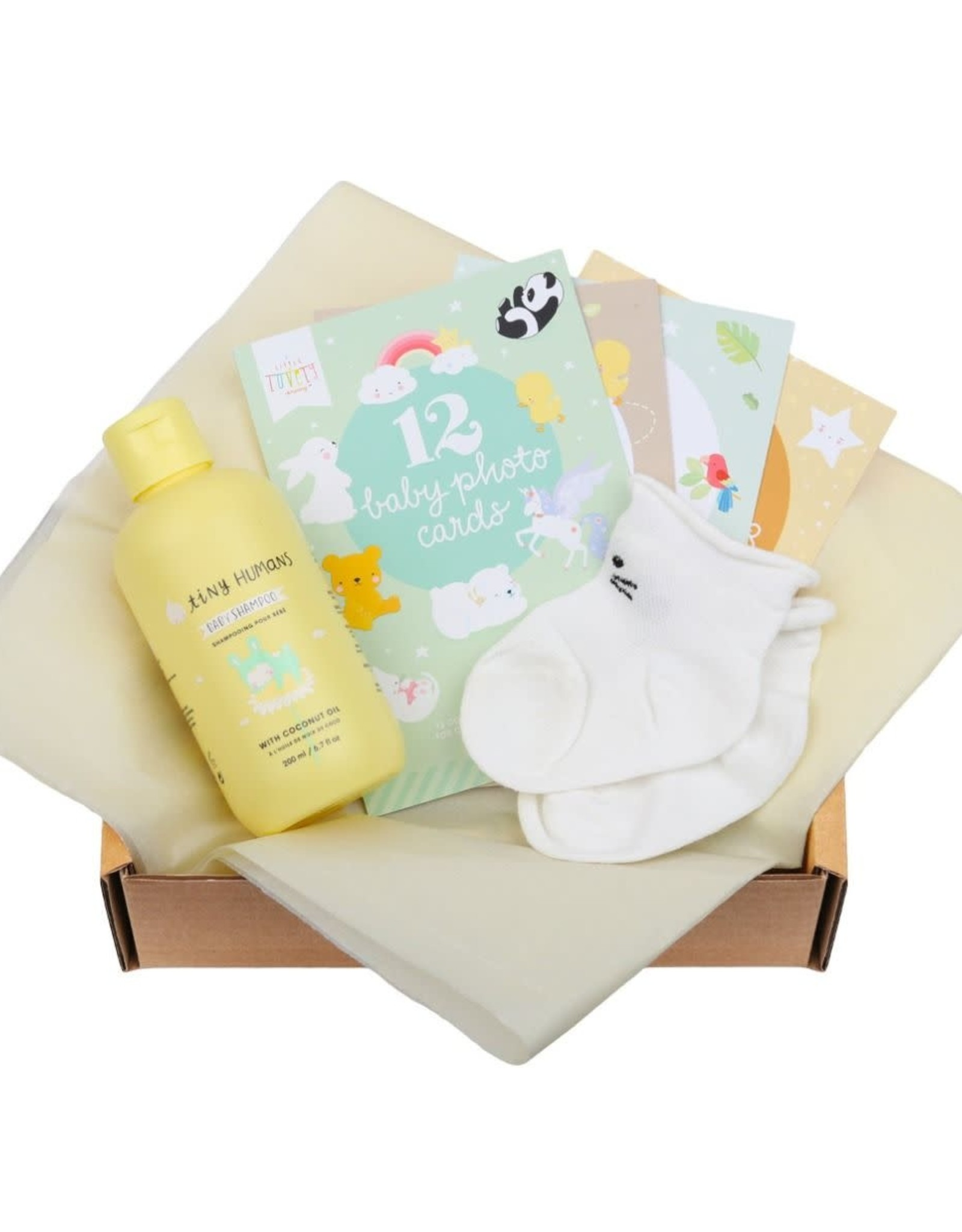 """A Little Lovely Company Baby Giftbox """"Welcome Little Baby (S) - A Little Lovely Company"""