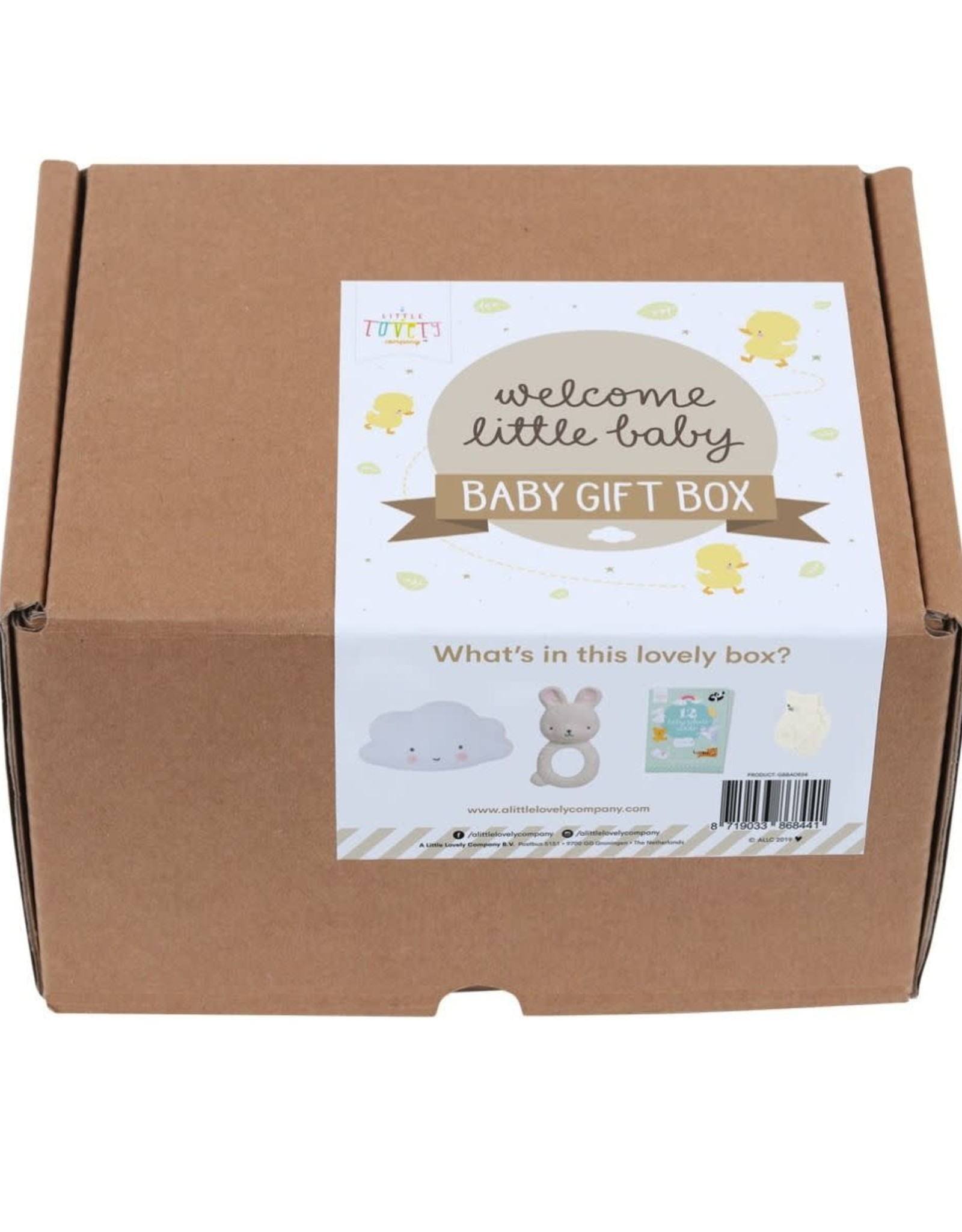 """A Little Lovely Company Baby Giftbox """"Welcome Little Baby - A Little Lovely Company"""