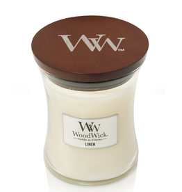 "WoodWick Kaars WoodWick ""Linen"" medium - WoodWick"