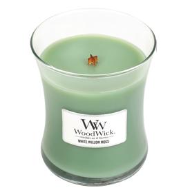 "WoodWick Kaars WoodWick ""White Willow Moss"" medium - WoodWick"