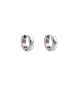 Go Dutch Label Oorbellen Ringen 10mm Zilver - Go Dutch Label