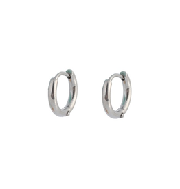 Go Dutch Label Oorbellen Ringen 11mm Zilver - Go Dutch Label