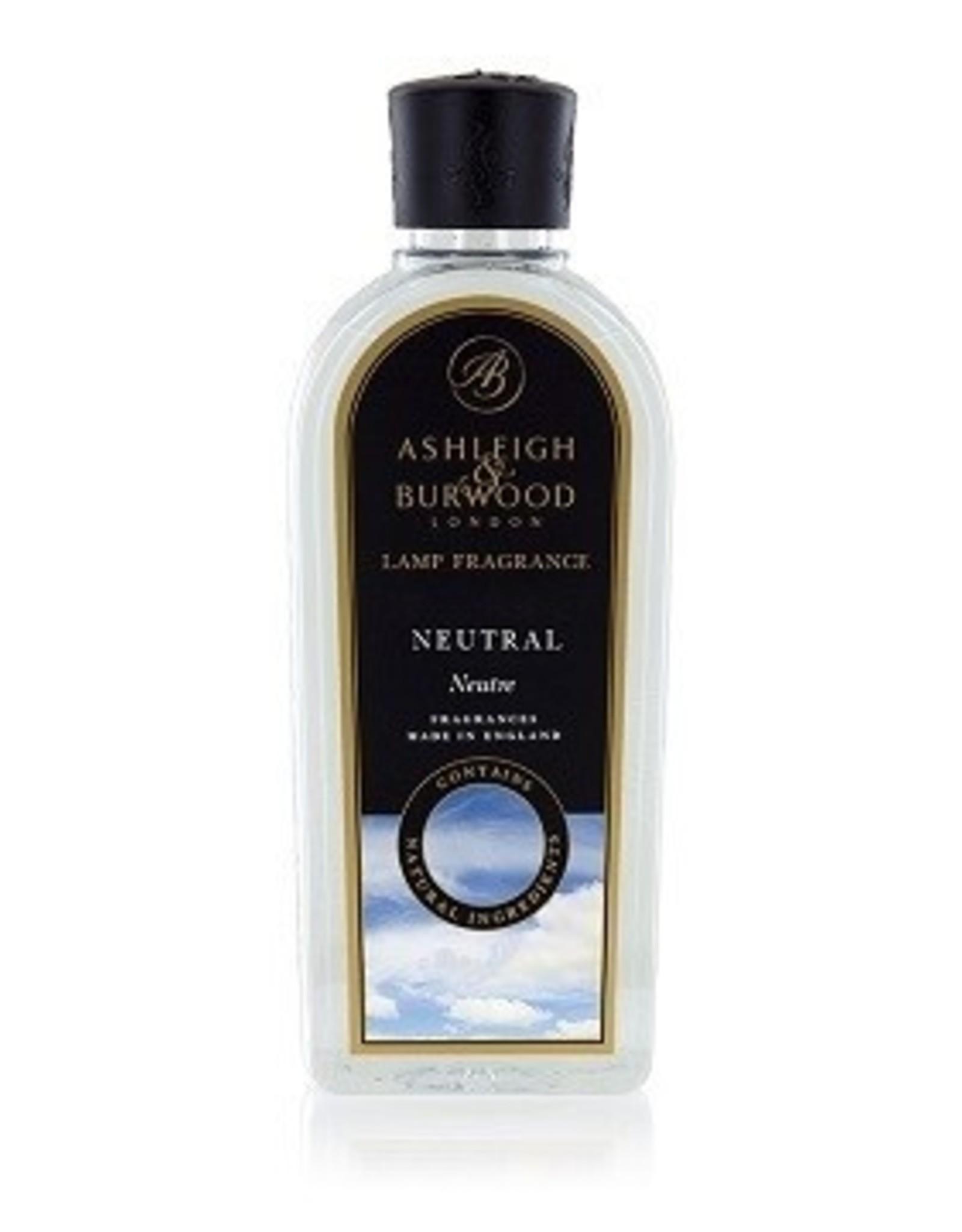 Ashleigh & Burwood Neutral (geurloos) 500ml Geurlampolie - Ashleigh & Burwood