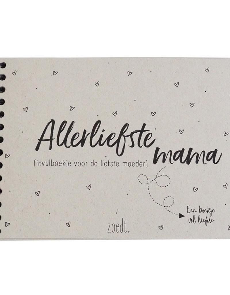 Zoedt Invulboekje voor de liefste Moeder - Zoedt