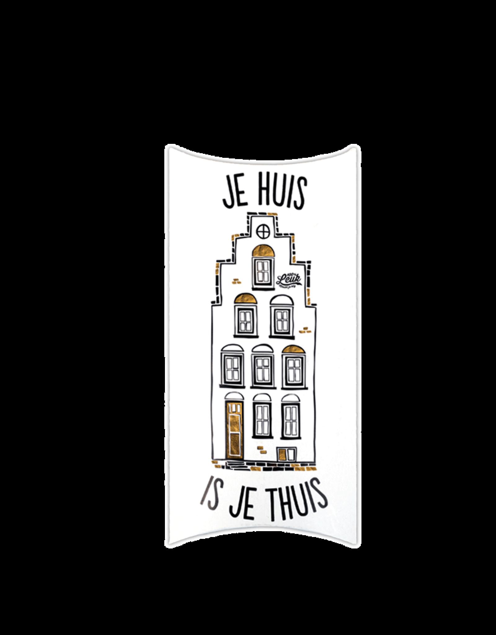 "100% Leuk Kadodoos ""Je Huis is je Thuis"" - 100% Leuk"