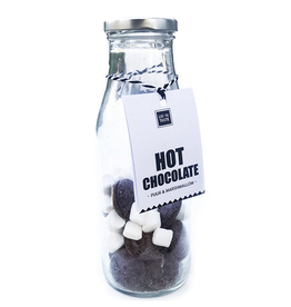 LIV 'N TASTE Diy Hot Chocolate + Marshmallow in Fles - LIV 'N TASTE
