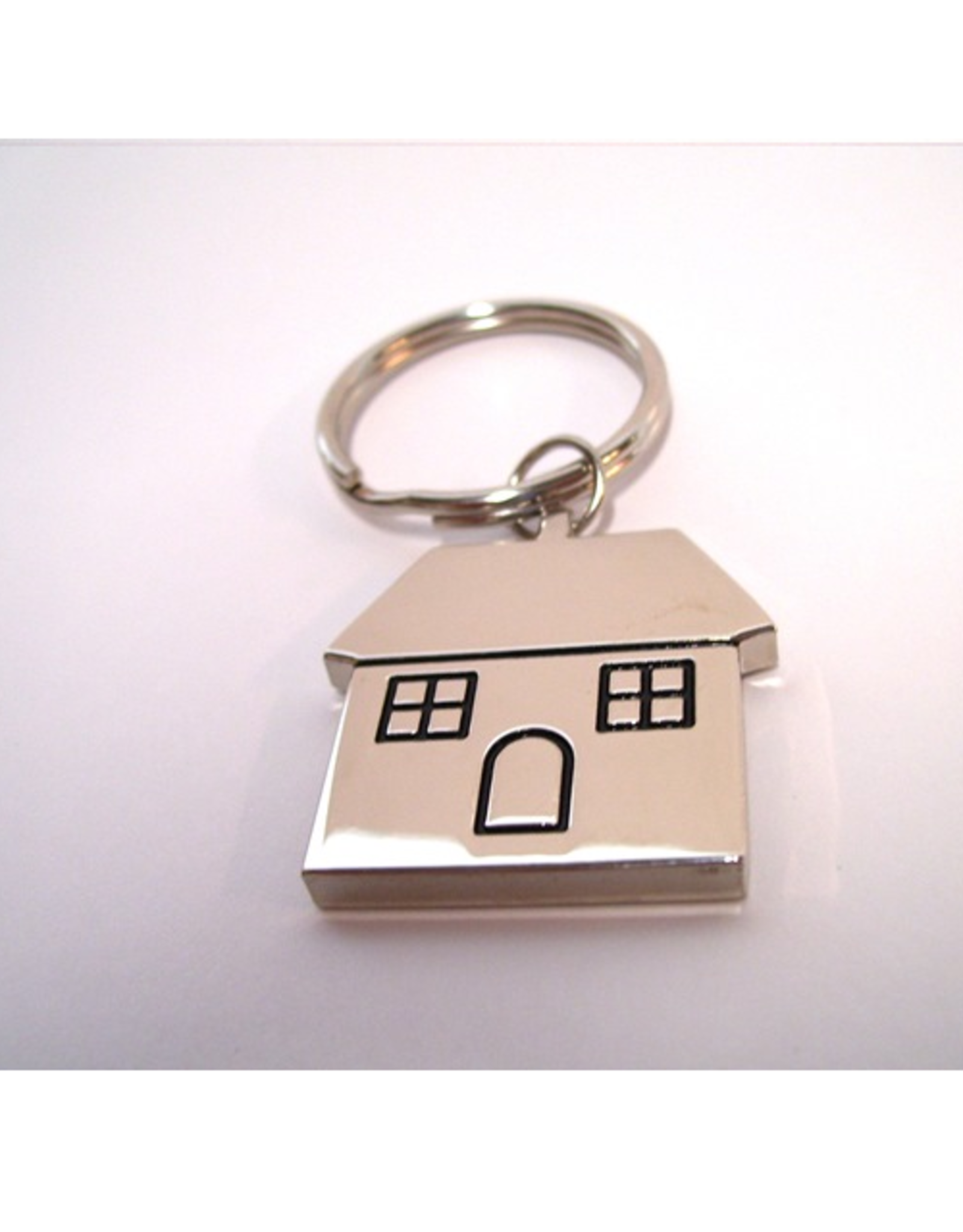 Sleutelhanger Huis RVS - Don Estilo