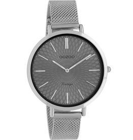 OOZOO Horloge Zilver Grijs 40mm C9861 - OOZOO