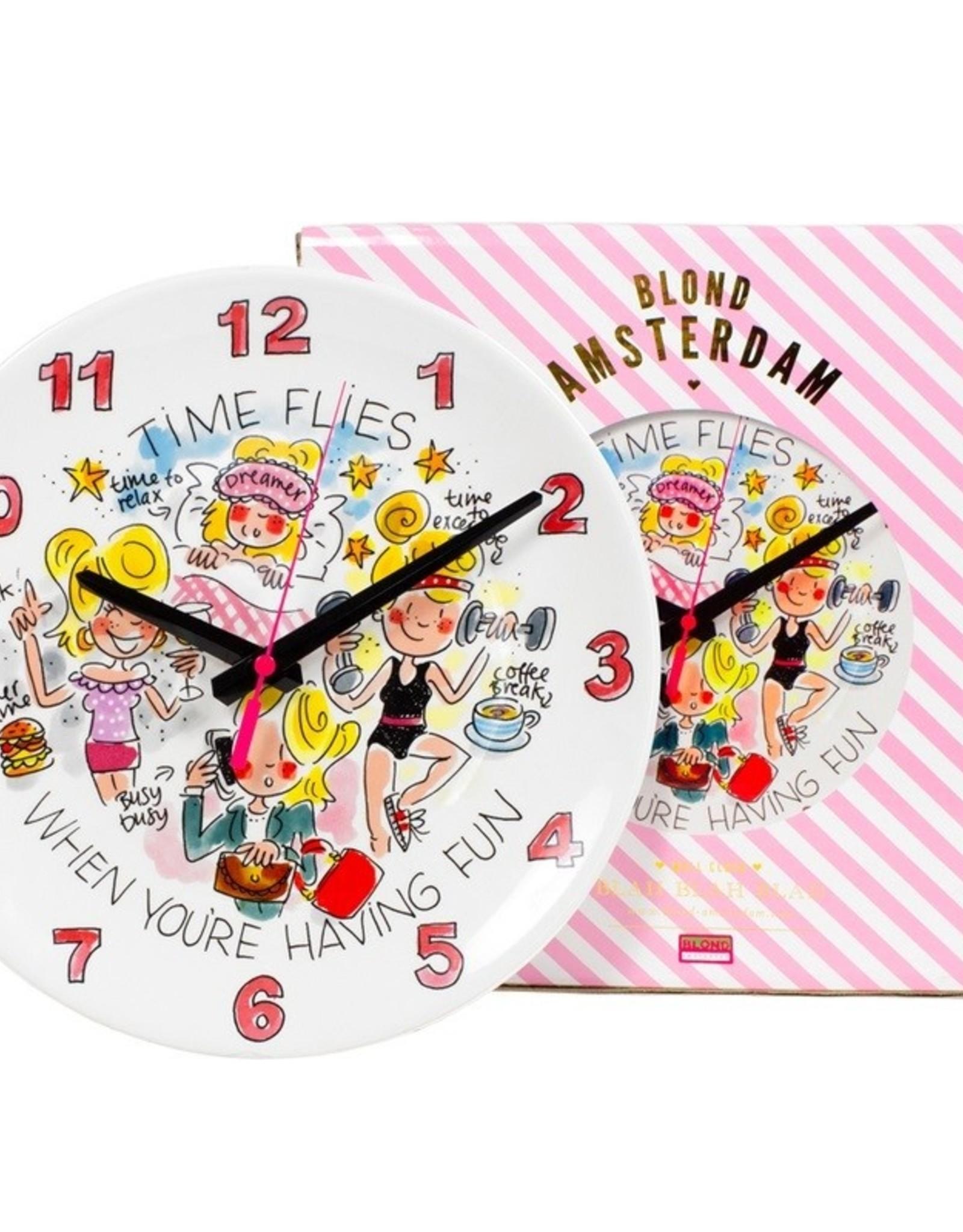 "Blond Amsterdam Klok ""Even Bijkletsen"" - Blond Amsterdam"