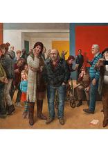Museumbezoekers - Wenskaart Marius van Dokkum