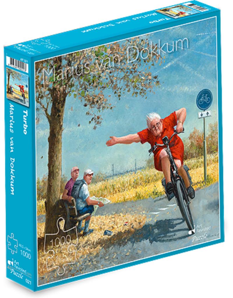 "Puzzel ""Turbo"" Marius van Dokkum 48,5x54cm / 1000 pcs"