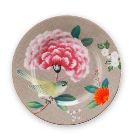 Pip Studio Petit Four Blushing Birds khaki 12cm - Pip Studio