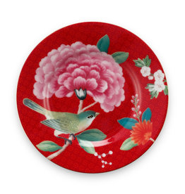 Pip Studio Petit Four Blushing Birds rood 12cm - Pip Studio