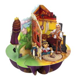 Santoro London Aladin, de Gelaarsde Kat en Pinokkio - Santoro Pirouettes