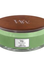 """WoodWick Kaars WoodWick """"Hemp & Ivy"""" Ellipse - WoodWick"""