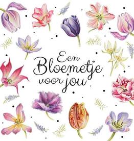 Wenskaart Een Bloemetje voor Jou -  Janneke Brinkman