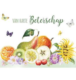 Wenskaart Van Harte Beterschap -  Janneke Brinkman