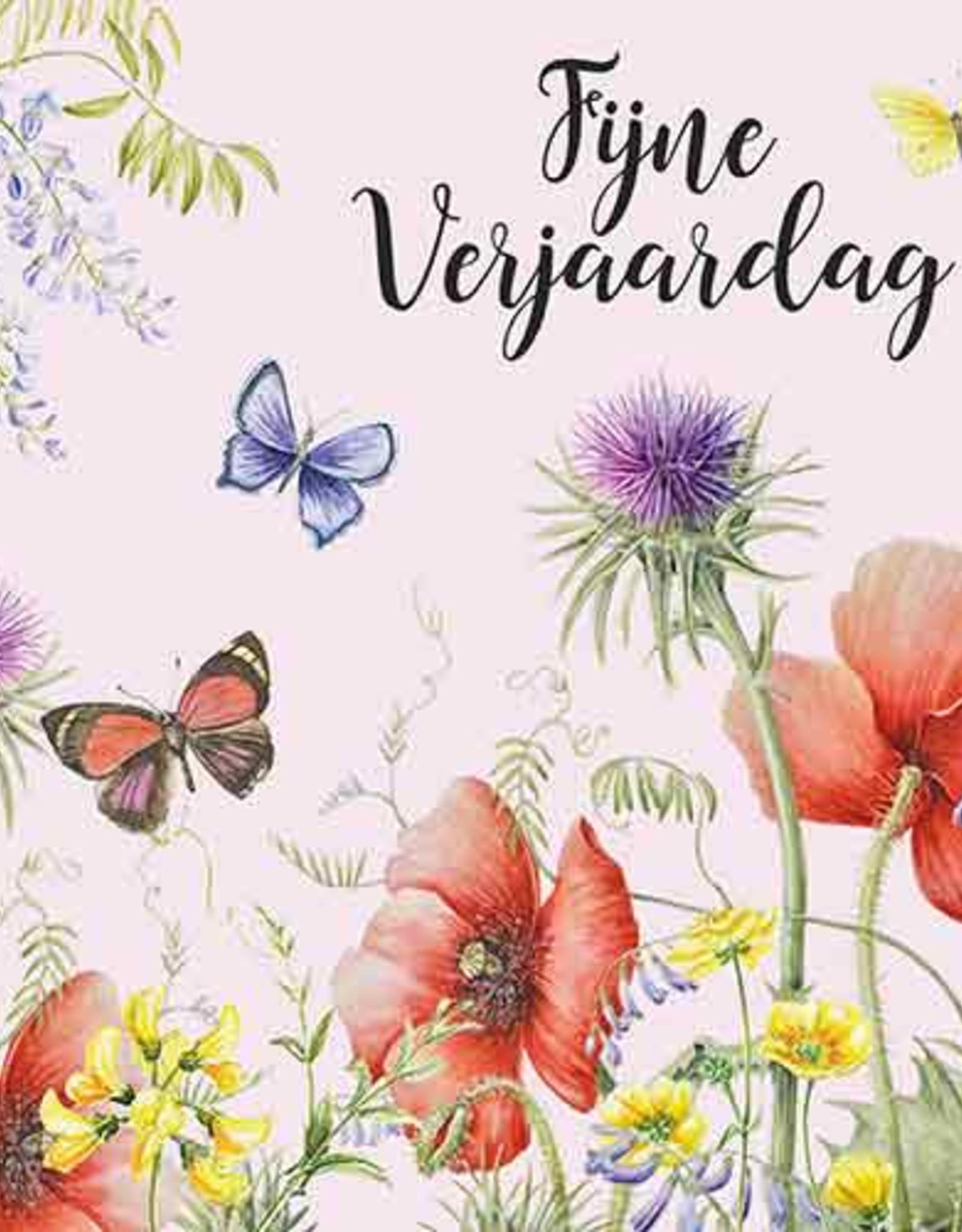 Wenskaart Fijne Verjaardag -  Janneke Brinkman