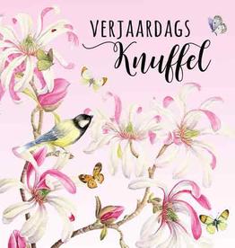 Wenskaart Verjaardags Knuffel -  Janneke Brinkman