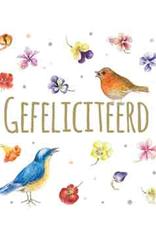 CadeauKaartje Gefeliciteerd -  Janneke Brinkman