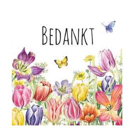 CadeauKaartje Bedankt -  Janneke Brinkman