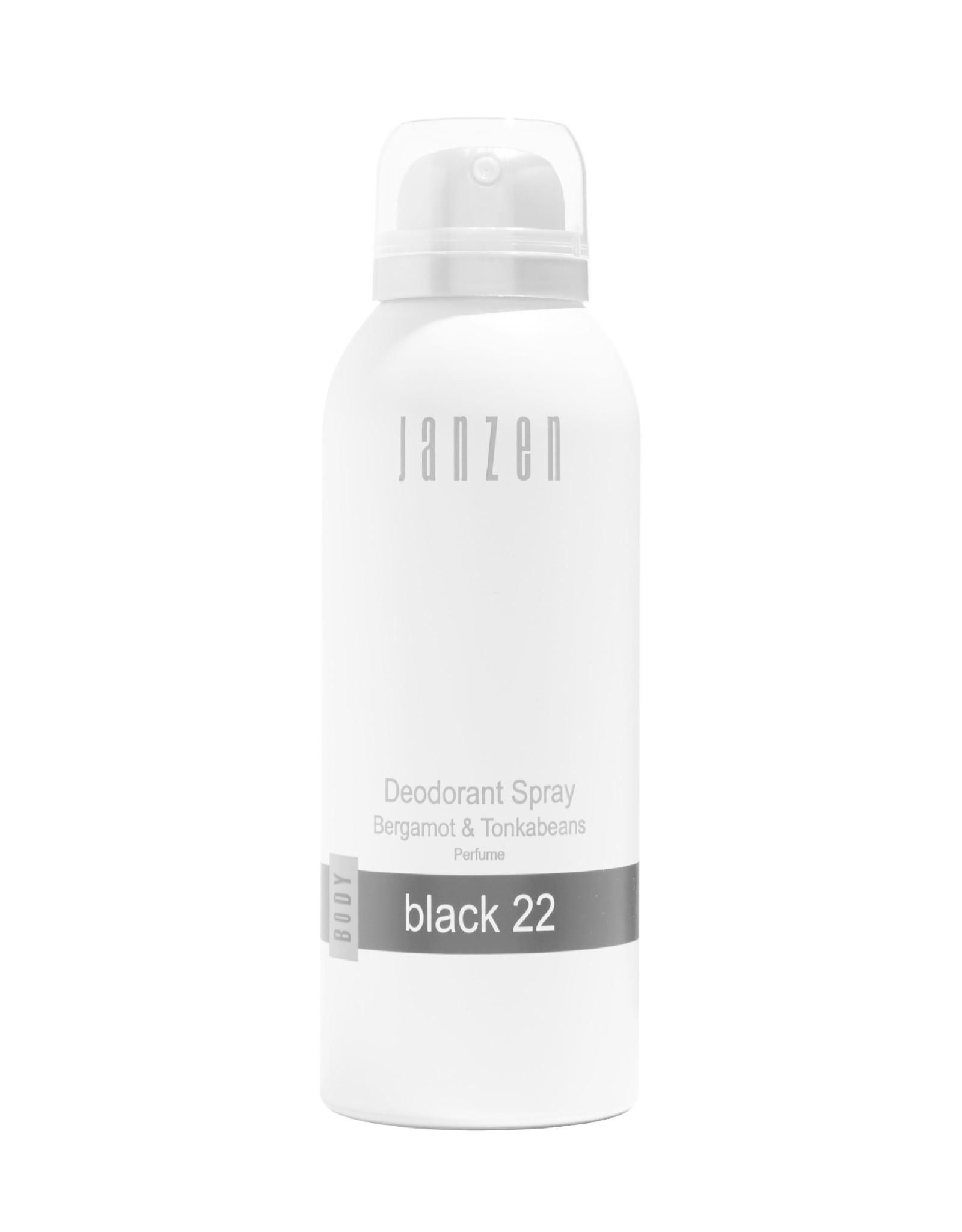 JANZEN Deodorant Spray Black 22 150ml - JANZEN