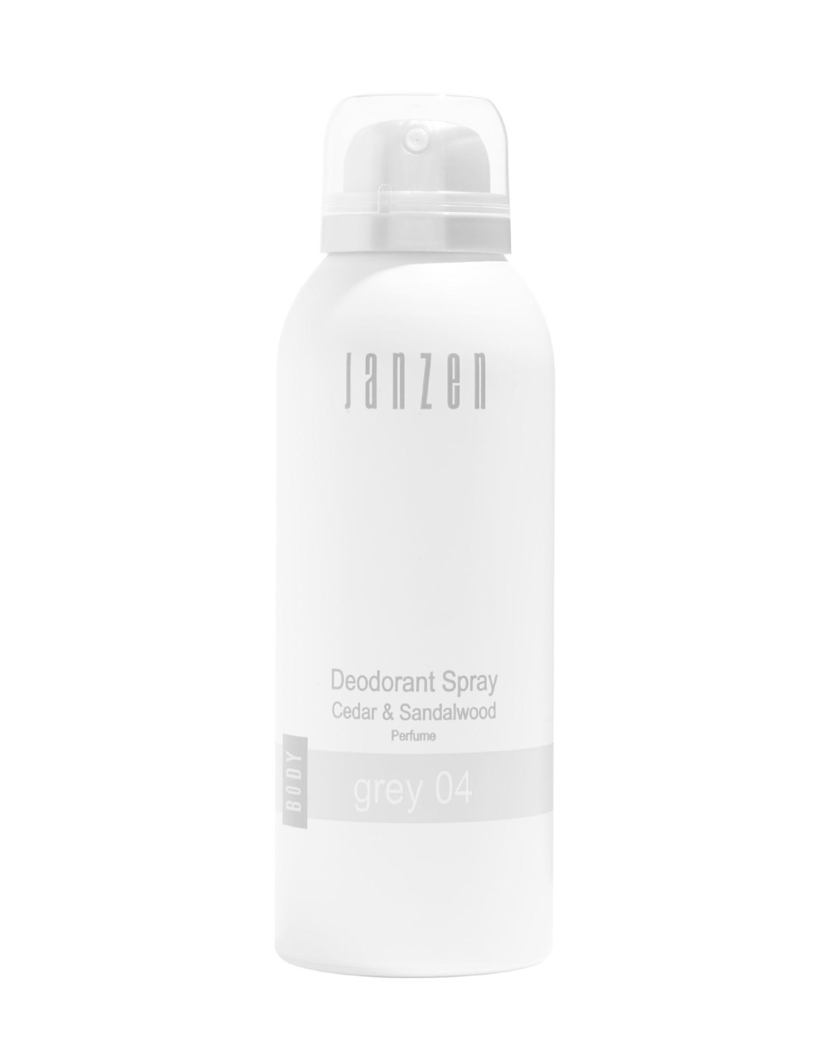 JANZEN Deodorant Spray Grey 04 150ml - JANZEN