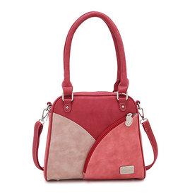 Hi-Di-Hi Tas Zinnia d.rood/rood/roze - Hi-Di-Hi