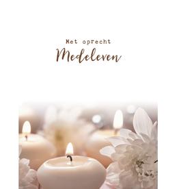 Pakje Condoleancekaarten 6stuks met Enveloppen