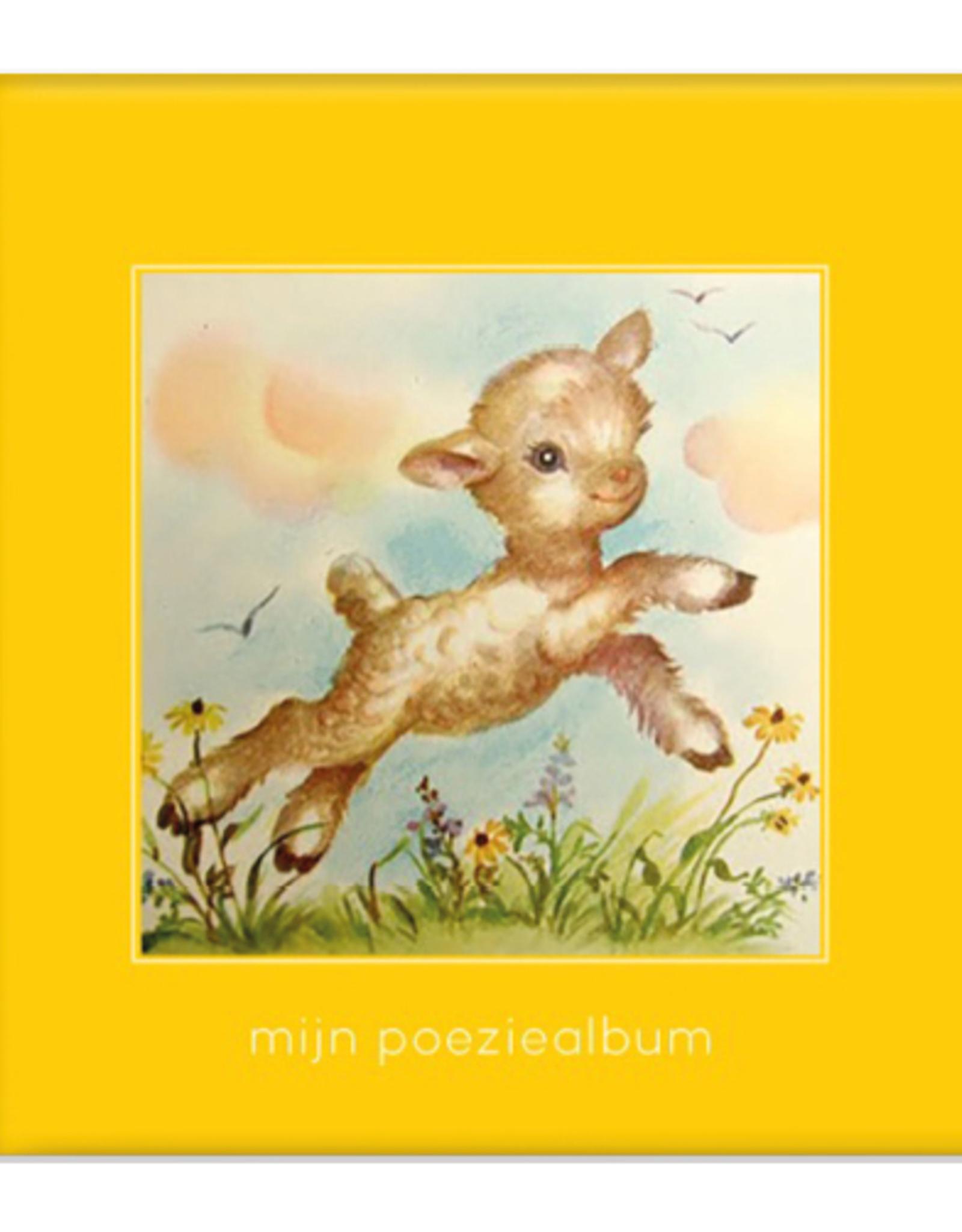 Poeziealbum Geel