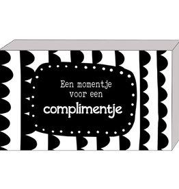 Cadeaudoosje Een Momentje voor een Complimentje met Complimentenkaartjes