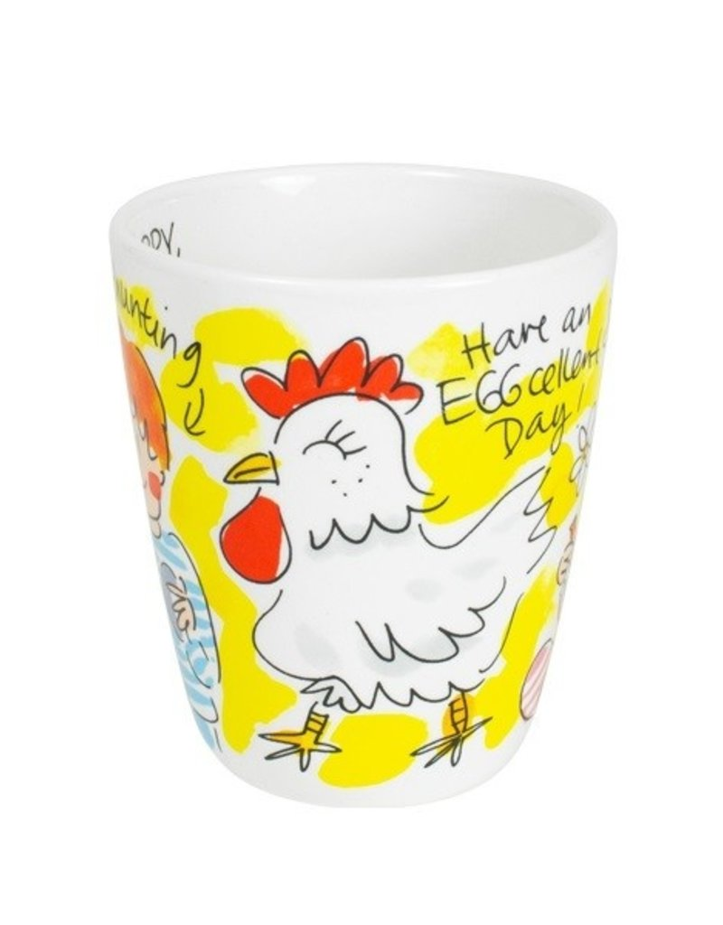 "Blond Amsterdam 3D Beker Chicken ""Pasen"" - Blond Amsterdam"