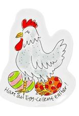 "Blond Amsterdam 3D Bord Chicken ""Pasen"" - Blond Amsterdam"