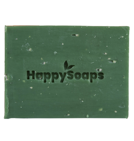 HappySoaps Happy Body Bar Citroen en Basilicum 100gram - HappySoaps